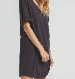 Z SUPPLY SHOP V-NECK T-SHIRT DRESS