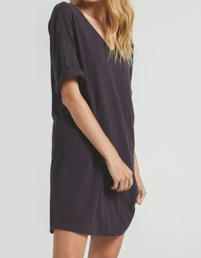 Z SUPPLY SHOP V-NECK T-SHIRT DRESS ZD202359