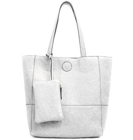 JOY SUSAN Raw Edge Tote
