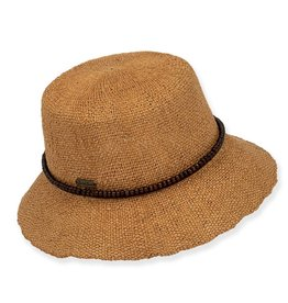 SUN N SAND Bryn Straw Hat(More Colors Available)