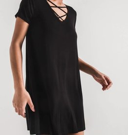 Z SUPPLY SHOP The Cross Front Tee Dress