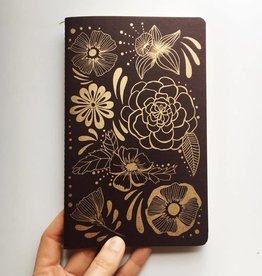 NATIVE BEAR Flower Power Notebook