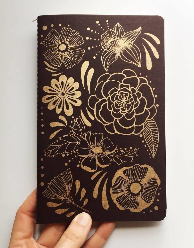 NATIVE BEAR Flower Power Notebook