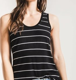 Z SUPPLY SHOP The Pencil Striped Jersey Tank