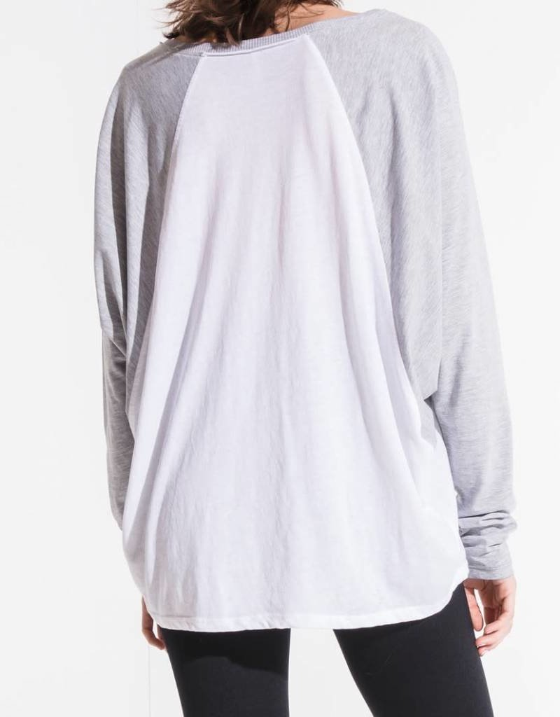 Z SUPPLY SHOP The Sport Raglan Tee