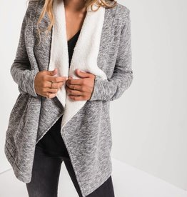 Z SUPPLY SHOP The Sherpa Sweater Cardi