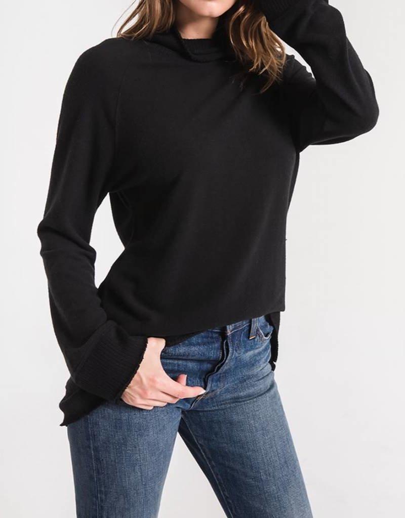 Z SUPPLY SHOP The Soft Spun Mock Neck Pullover