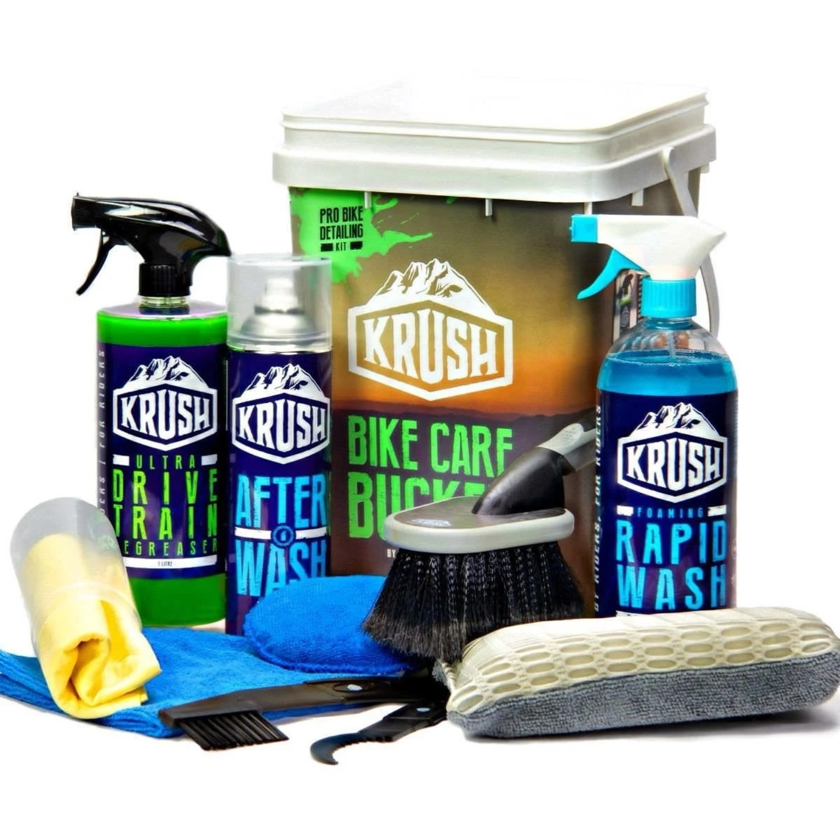 KRUSH KRUSH Pro Bike Detailing Kit