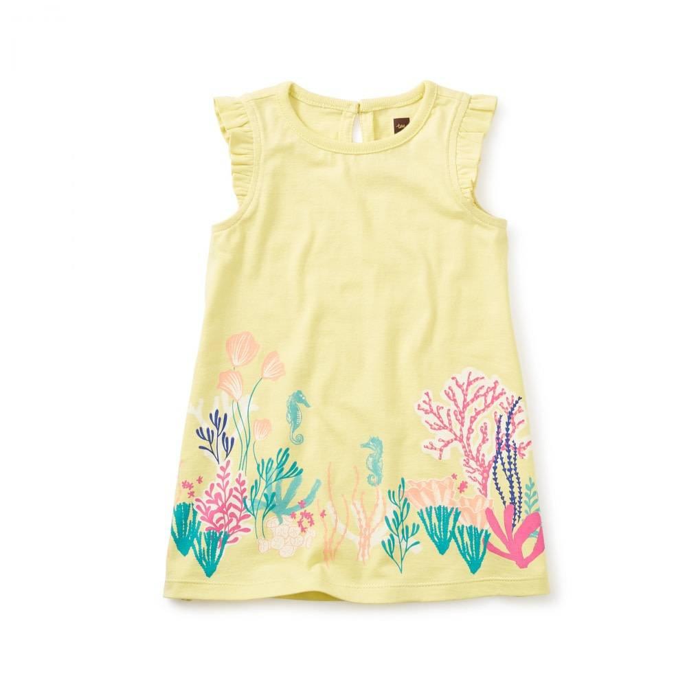 Tea Collection Reef Garden Graphic Dress