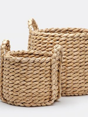 Basket-Medium Woven Seagrass