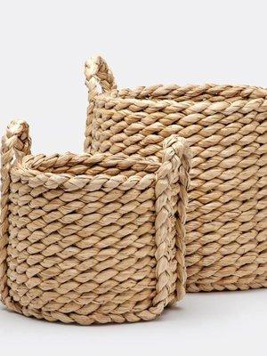 Basket-Medium Woven Seagrass
