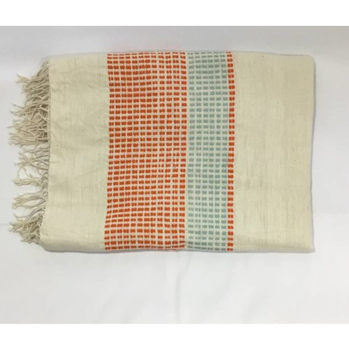Handwoven Cotton Throw/Towel