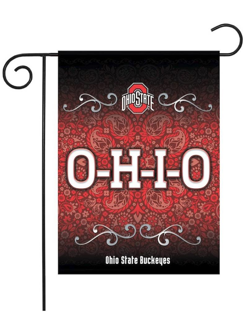 "Ohio State Buckeyes Sparo 13"" x 18"" Double-Sided Garden Flag"