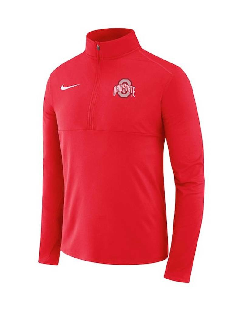 low priced 63070 804e0 Nike Ohio State Buckeyes Nike Quarter-Zip Jacket ...