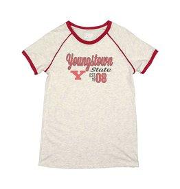 Youngstown State Women's Raglan T-Shirt
