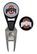 Ohio State Buckeyes CVX Divot Tool and Ball Marker Set