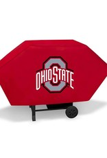 """Ohio State University 68"""" Red Deluxe Grill Cover"""