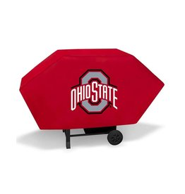 "Ohio State University 68"" Red Deluxe Grill Cover"