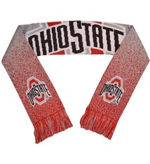 Forever Collectibles Ohio State Buckeyes Poly Knit Logo Scarf