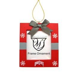Ohio State Buckeyes Photo Frame Ornament