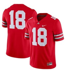 Nike Ohio State Buckeyes Men's #18 Football Jersey