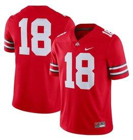 Nike Ohio State Buckeyes Men's #18 Football Jersey