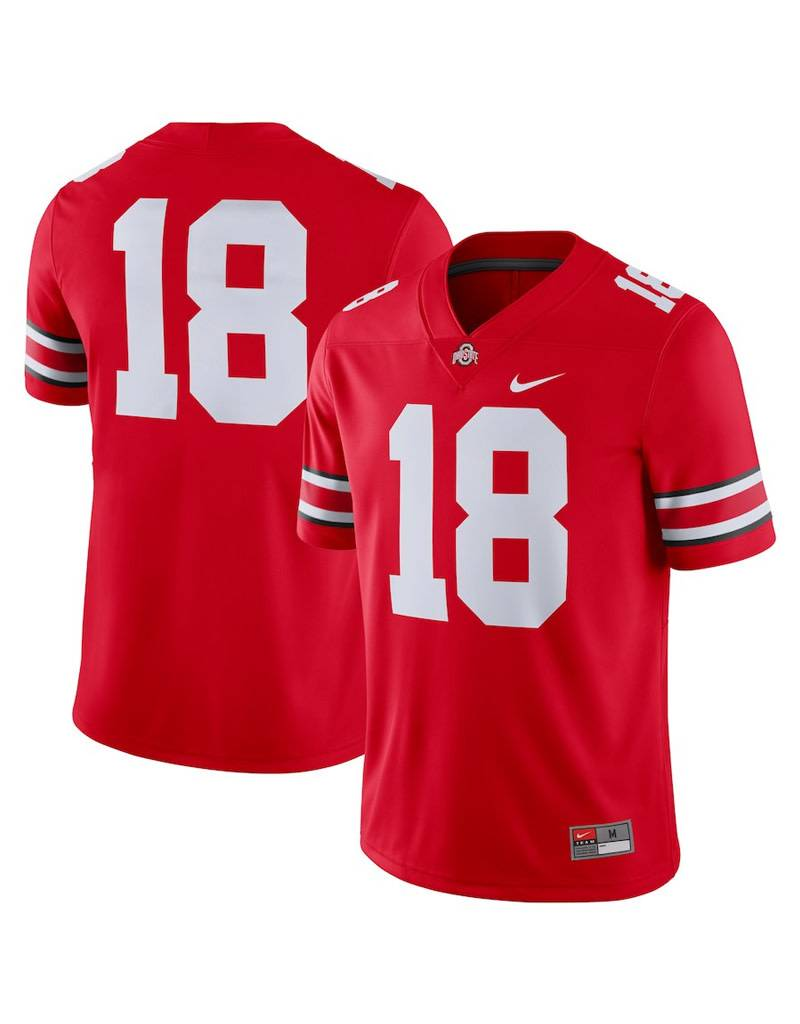 Nike Ohio State Buckeyes #18 Football Jersey