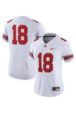 Nike Ohio State #18 Women's White Jersey