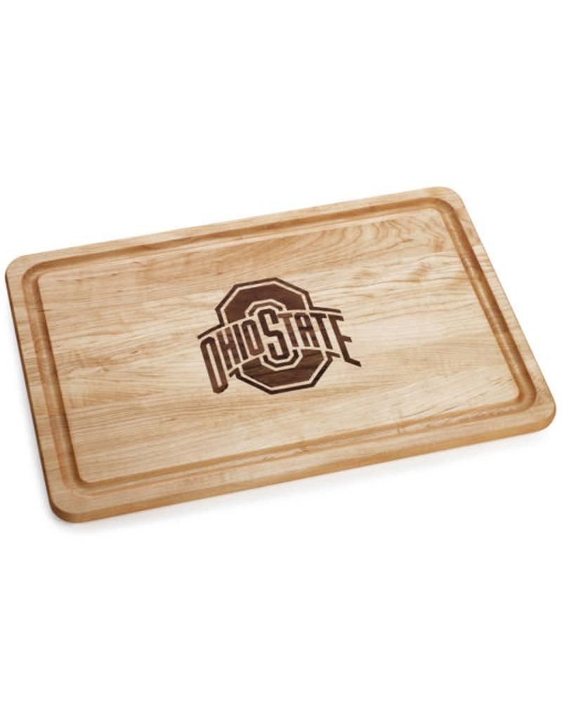 Warther Boards 18x12 Ohio State Buckeyes Athletic O Maple Cutting Board