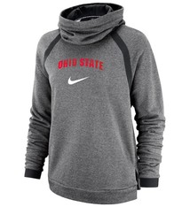 Nike Ohio State Buckeyes Nike Women's Winter Performance Pullover Hoodie