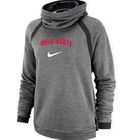Nike Ohio State Buckeyes Nike Women's Winter Performance Pullover Hoodie