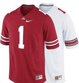 Nike Ohio State University Men's Replica # 1 Jersey