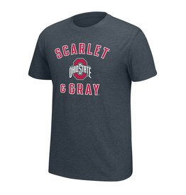 Top of the World Ohio State Buckeyes Scarlet and Gray T-shirt