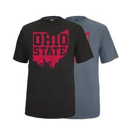 Top of the World Ohio State University Spirit Sticker Vital Tee