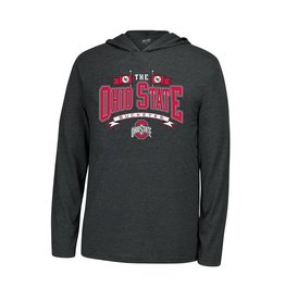 Top of the World Ohio State Buckeyes One and Only Wordmark Hooded Long Sleeve Shirt