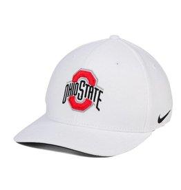 Nike Ohio State Buckeyes Nike Classic Swoosh Hat -White