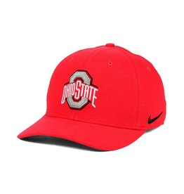 Nike Ohio State Buckeyes Nike Classic Swoosh Hat - Red
