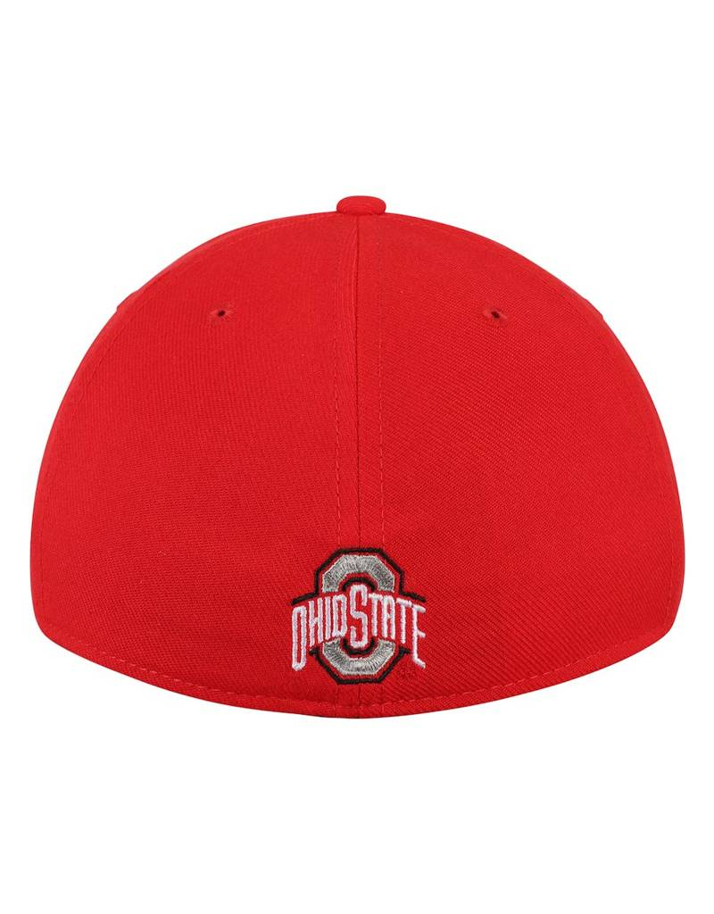 Nike Ohio State Buckeyes Nike Wordmark Swoosh Performance Flex Hat