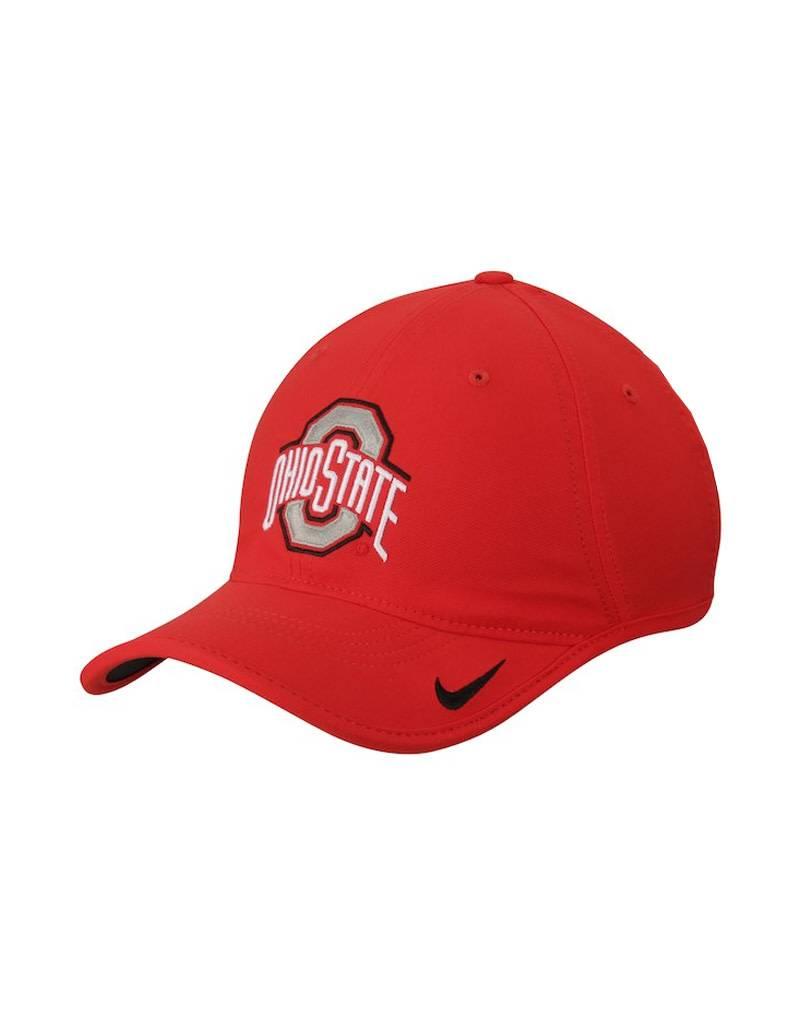 Nike Ohio State Buckeyes Nike Heritage 86 Vapor Performance Adjustable Hat