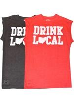 Drink Local Ohio Pop Top Cut-Off Shirt