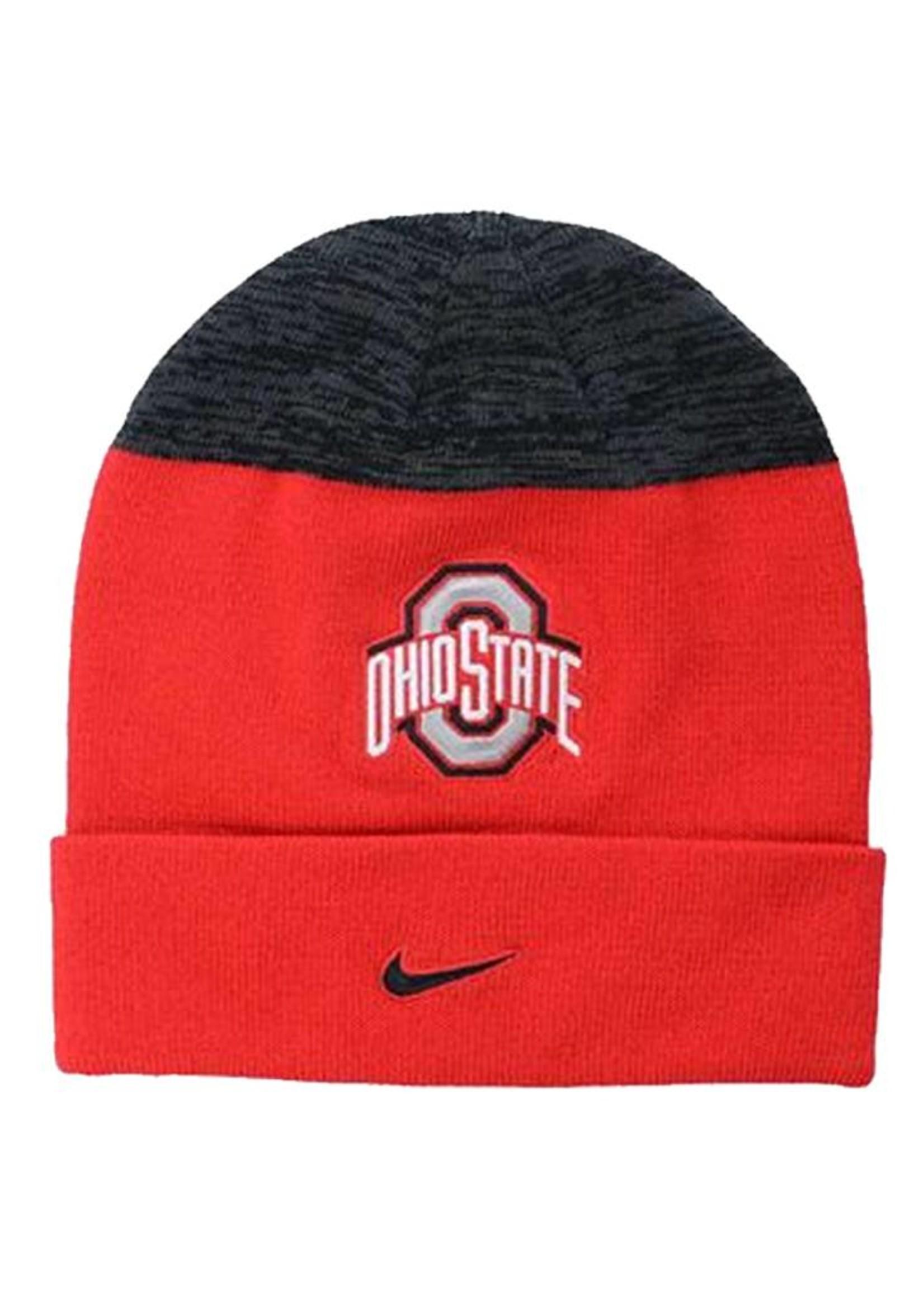 Nike Ohio State Buckeyes Sideline Beanie - Youth