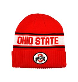 Nike Ohio State University Sideline Cuffed Knit Hat