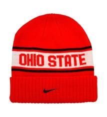 Nike Ohio State University Sideline Cuffed Knit Hat - Youth