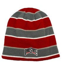 Top of the World Ohio State Buckeyes Scarlet EZ Stripe Knit Beanie