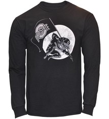 Top of the World Ohio State University Blackout Brutus Long Sleeve