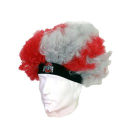 Ohio State University Curly Hair Wig