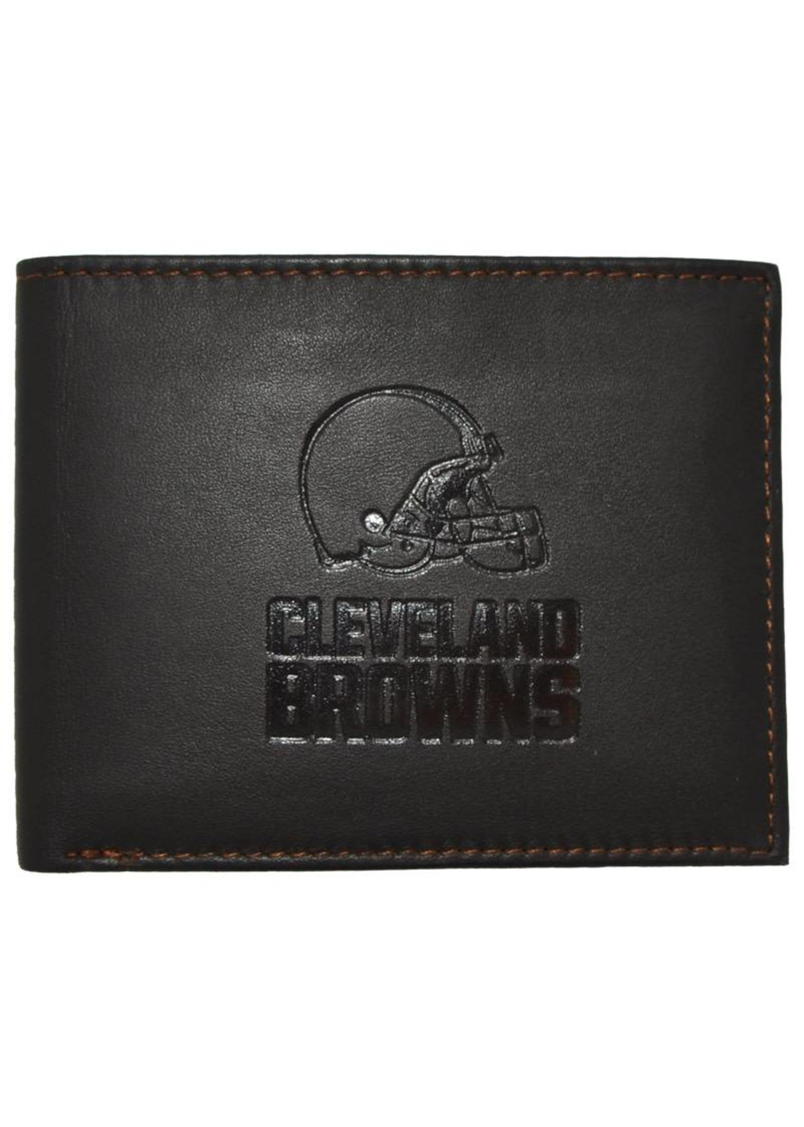 Cleveland Browns Bill-Fold Leather Wallet