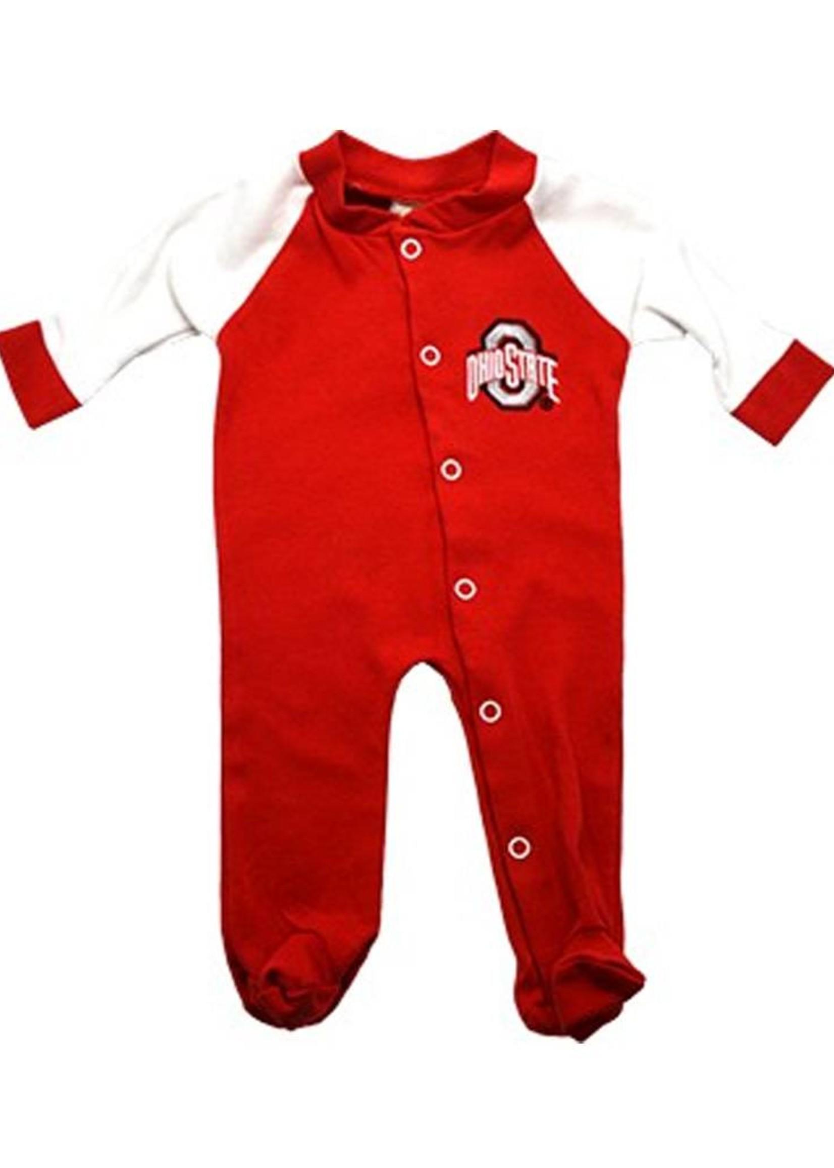 Ohio State University Footed Sleeper