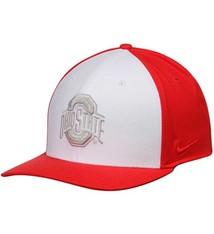 Nike Ohio State Buckeyes Color Block Swoosh Flex Hat