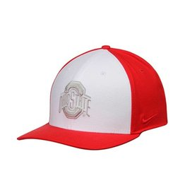 finest selection 49ffb fc210 Nike Ohio State Buckeyes Color Block Swoosh Flex Hat